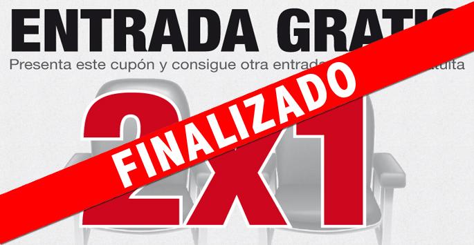 Entrada GRATIS 2x1