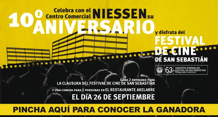 Ganadora Festival de Cine de San Sebastián 2015