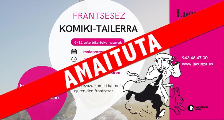Komiki - tailerra, frantsesez