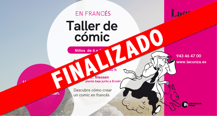 Taller de Cómic en francés