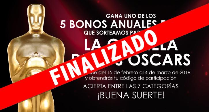 La Quiniela de los Oscars 2018
