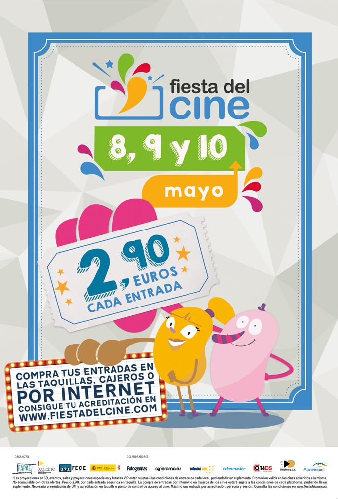 Fiesta del cine mayo 2017