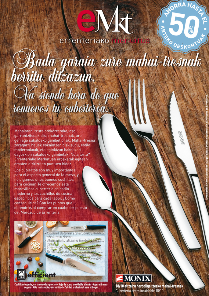 Promo Mercado cuchillos